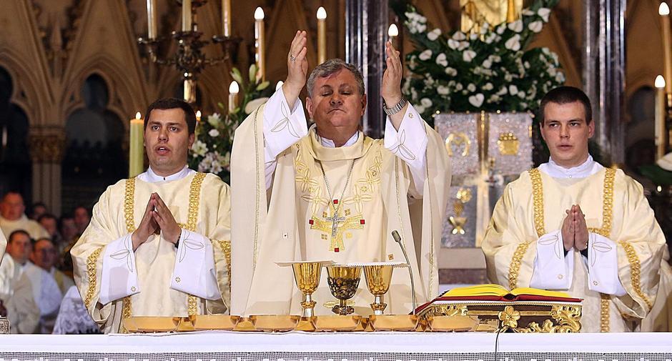 Biskup Vlado Košić | Author: Goran Stanzl/PIXSELL