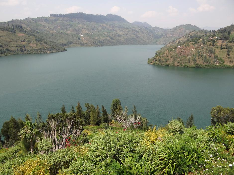 jezero Kivu | Author: Wikipedia Commons