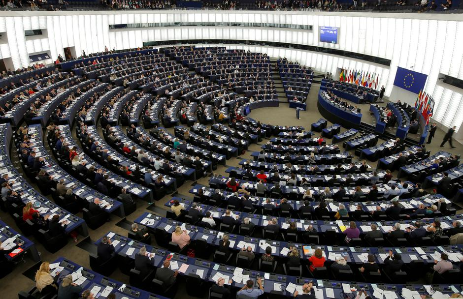 Europski parlament u Strasbourgu   Author: VINCENT KESSLER/REUTERS/PIXSELL
