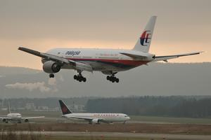 Beoing 777 Malaysia Airlines poput nestalog MH370