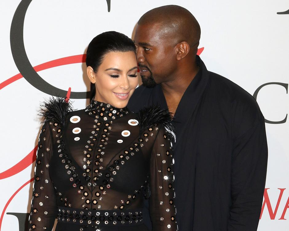 Kanye West i Kim Kardashian | Author: Press Association/PIXSELL