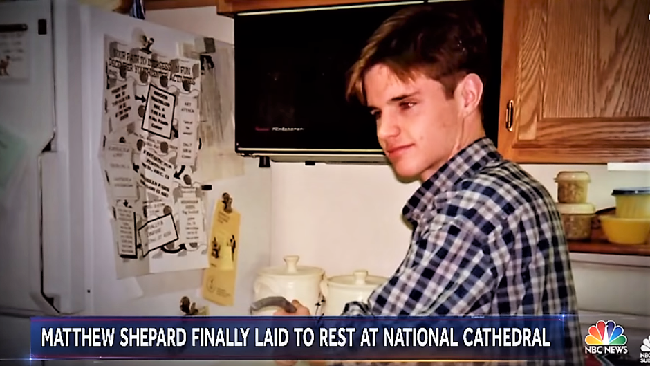 Matthew Shepard | Author: NBC screenshot