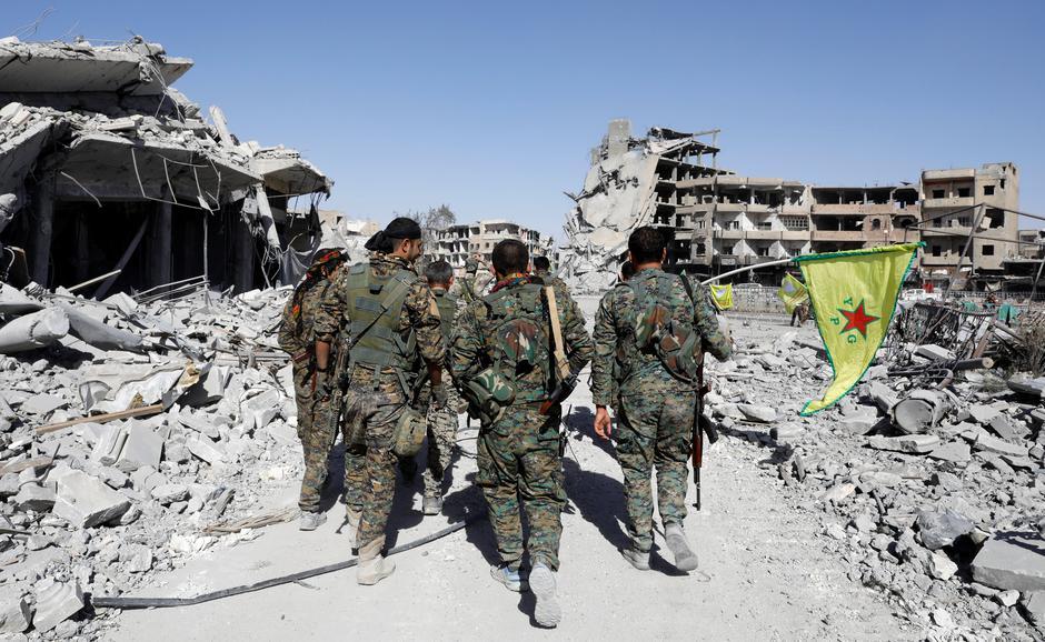 Raqqa, Sirija, nakon što je SDF protjerao ISIL | Author: ERIK DE CASTRO/REUTERS/PIXSELL