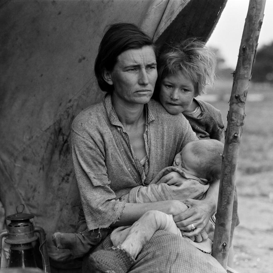 Florence Owens Thompson | Author: Dorothea Lange