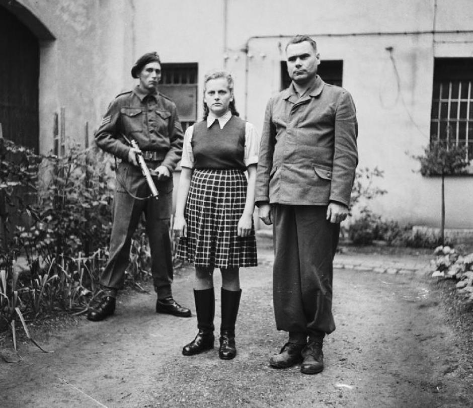 Irma Grese | Author: No 5 Army Film & Photographic Unit