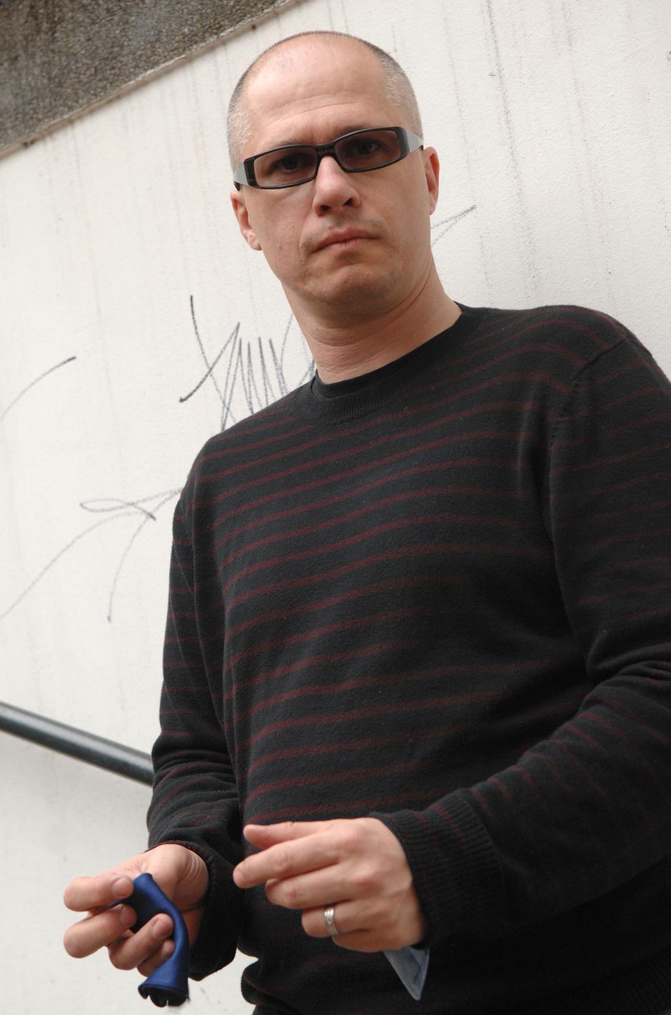 Aleksandar Hemon   Author: Marko Prpic/Pixsell