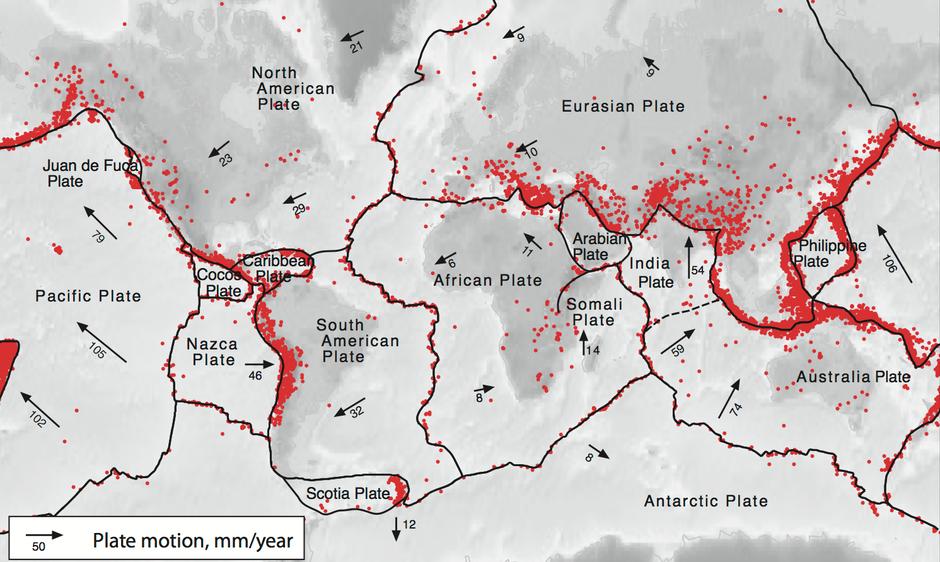 Tektonika ploča na Zemlji | Author: iris.edu