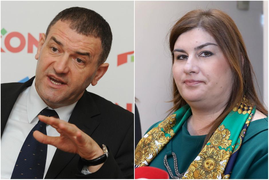 Josip Stojanović Jolly i Gabrijela Žalac | Author: PIXSELL