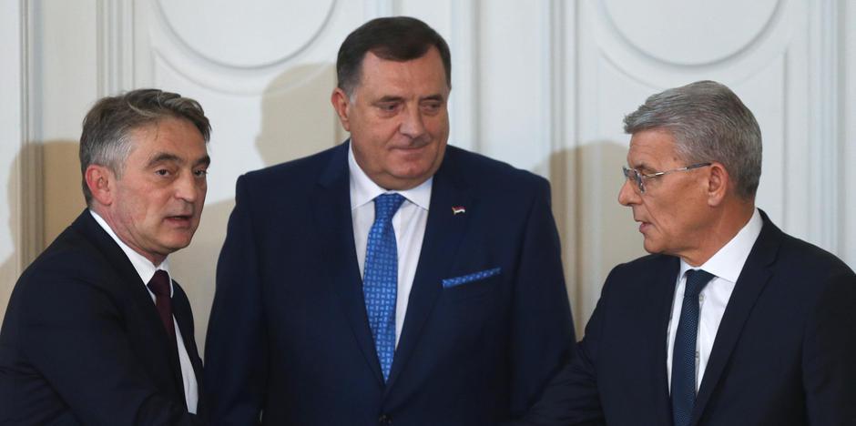 Željko Komšić, Milorad Dodik, Šefik Džaferović | Author: DADO RUVIC/REUTERS/PIXSELL