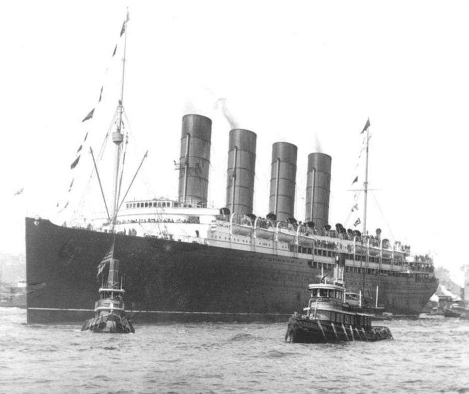 Brod Lusitania | Author: Wikipedia