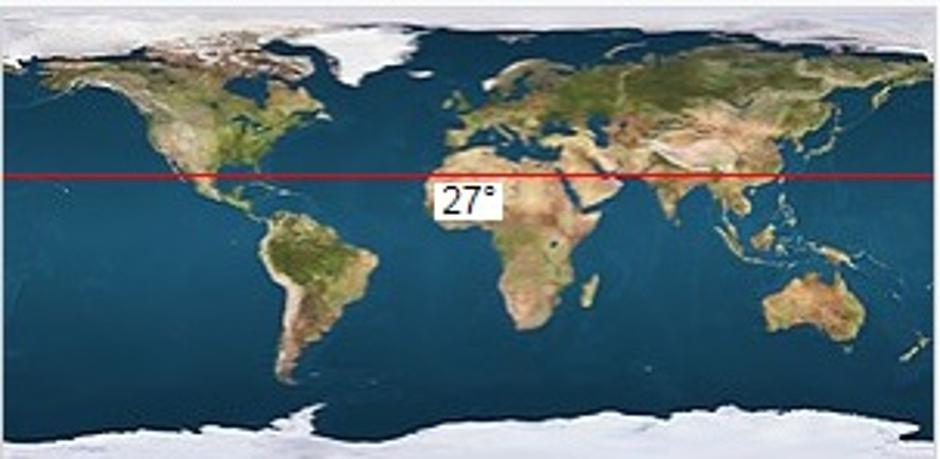 Misteriozno područje 27. paralele | Author: screenshot/youtube