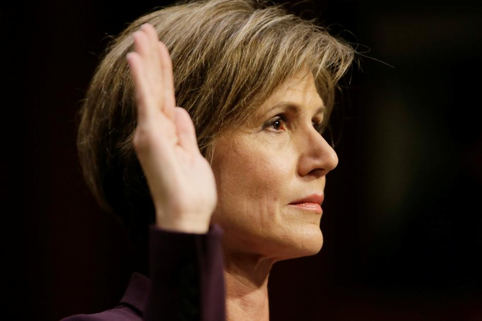 Sally Yates | Author: JIM BOURG/REUTERS/PIXSELL