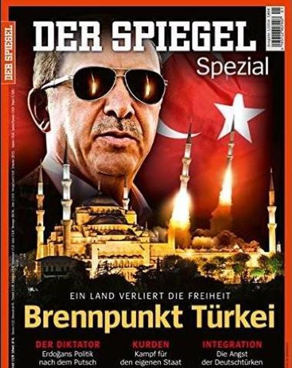 Der Spiegel, naslovnica s Erdoganom | Author: Der Spiegel