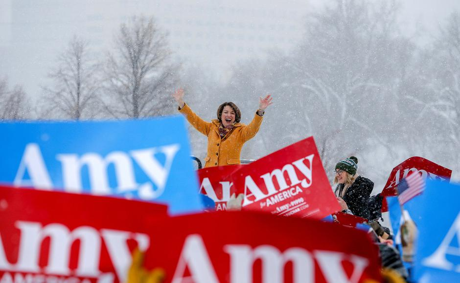 Amy Klobuchar | Author: Eric Miller/ Reuters/ Pixsell