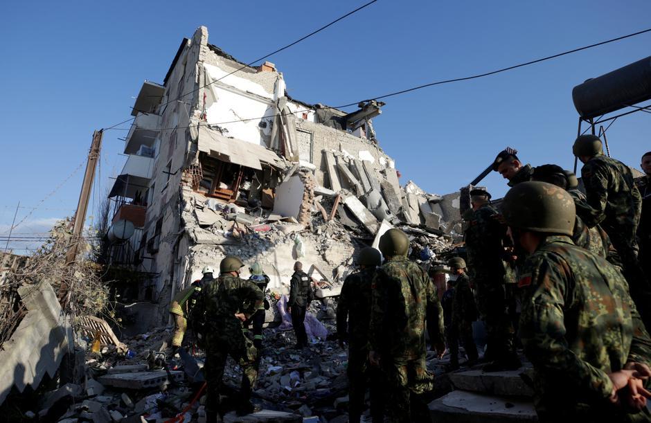 Potres u Albaniji | Author: REUTERS