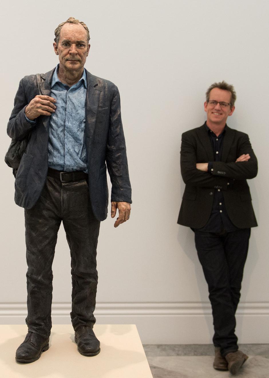 Tim Berners-Leejeva skulptura i umjetnik Sean Henry | Author: Stefan Rousseau/Press Association/PIXSELL