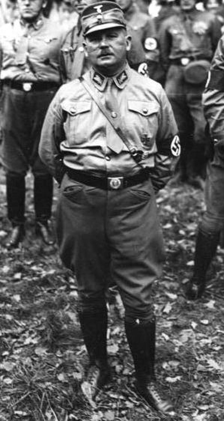 Ernst Röhm | Author: Wikipedia/CC BY-SA 3.0 DE