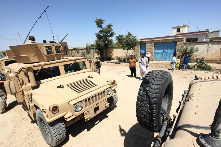 Hrvatski vojnici tijekom dnevne rutinske patrole u Afganistanu | Author: Željko Lukunić (PIXSELL)