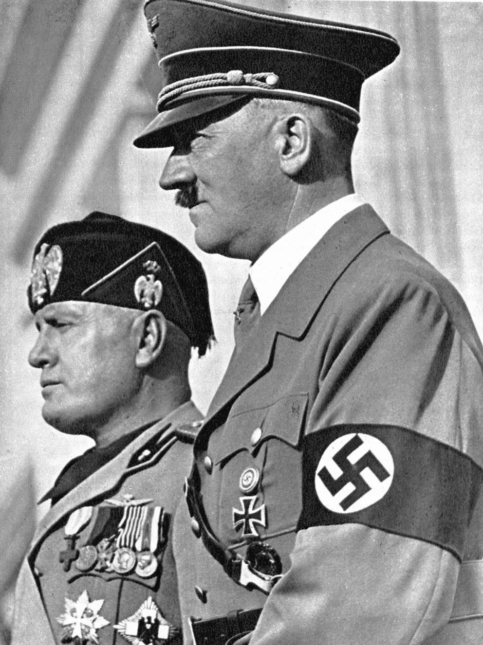 Hitler i Benito Mussolini | Author: Thinkstock