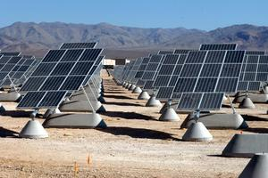 Solarni paneli, Nellis Air Force Base