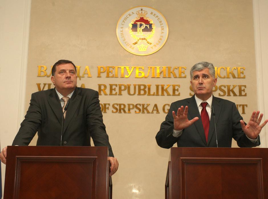 Milorad Dodik i Dragan Čović | Author: Dejan Moconja/PIXSELL
