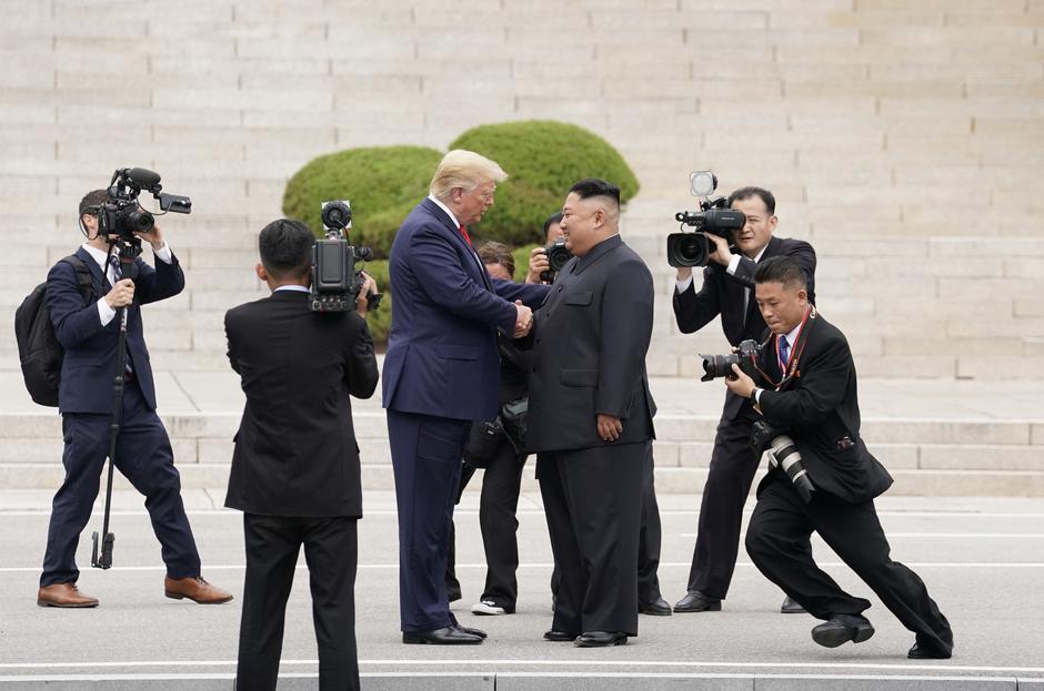 Donald Trump i Kim Jong Un | Author: KEVIN LAMARQUE/REUTERS/PIXSELL