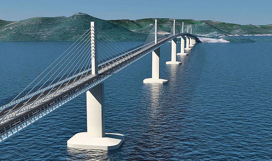 Pelješki most | Author: Screenshot Express