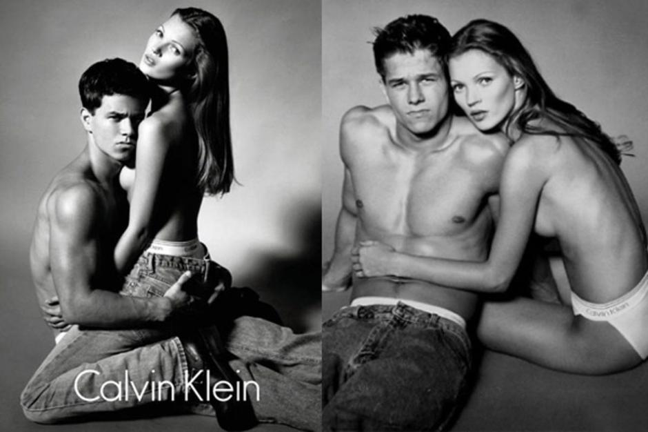 Calvin Klein Spring 1992, Kate Moss i Mark Wahlberg | Author: screenshot/youtube