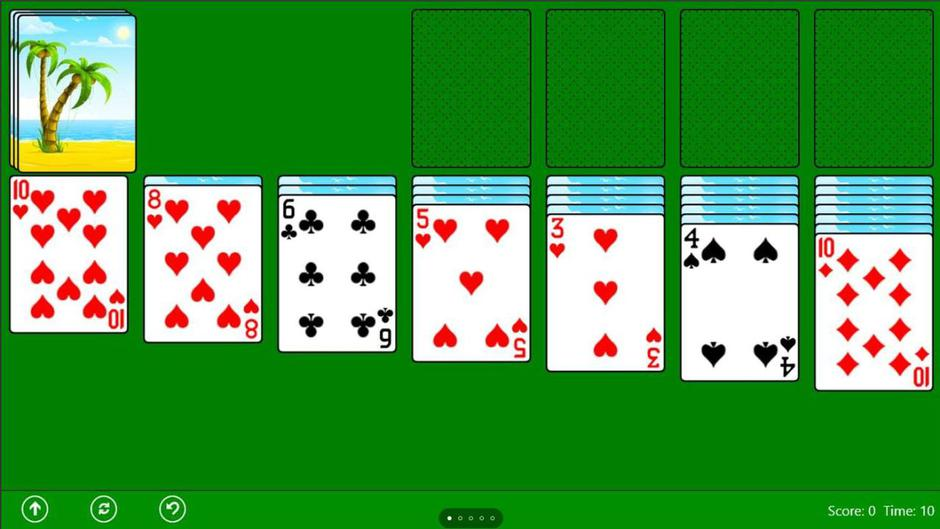 Solitaire | Author: Screenshot