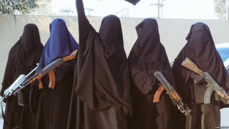 Žene iz Europe udane za džihadiste | Author: Twitter