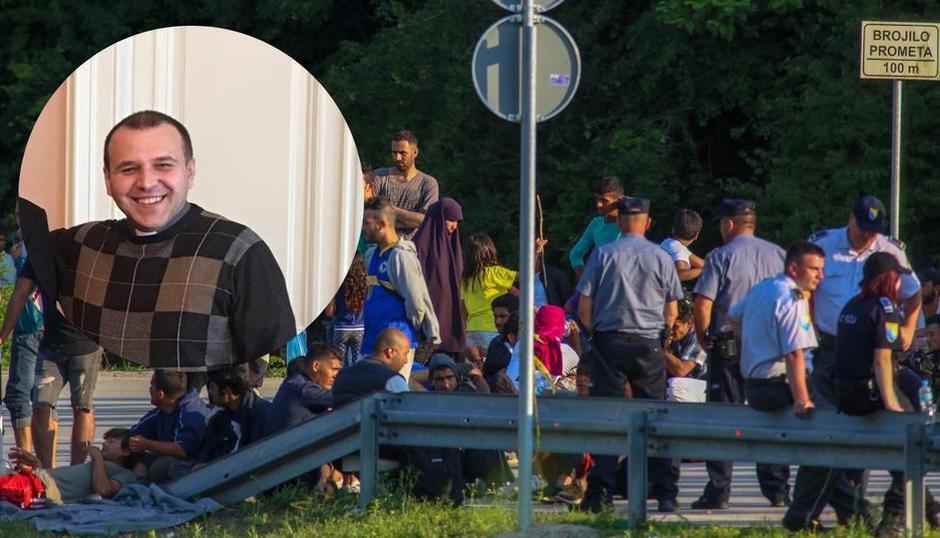 Josip Tomić, župnik koji je pozivao da se ne da ni mrva kruha migrantima | Author: Matija Habljak/ Pixsell/ katolickiskauti.hr