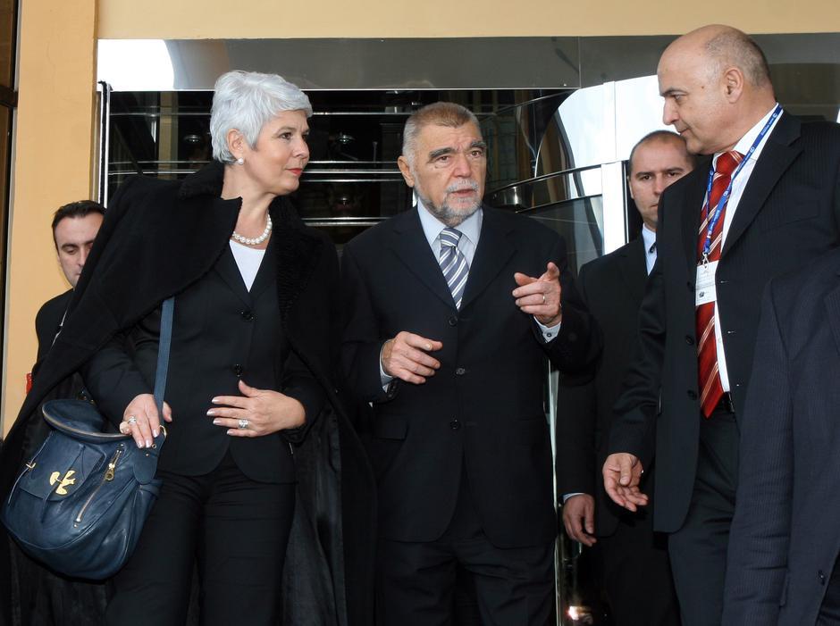 Jadranka Kosor i Stjepan Mesić | Author: Žarko Bašić/ PIXSELL