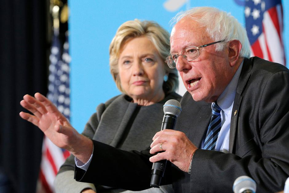 Bernie Sanders, Hillary Clinton | Author: BRIAN SNYDER/REUTERS/PIXSELL