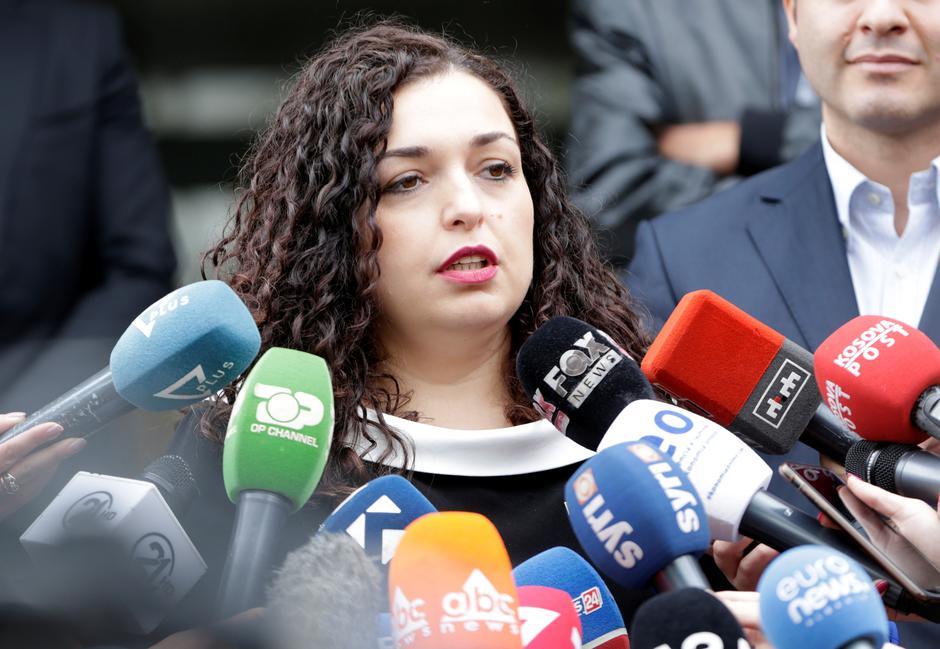 Vjosa Osmani | Author: Florion Goga/REUTERS/PIXSELL