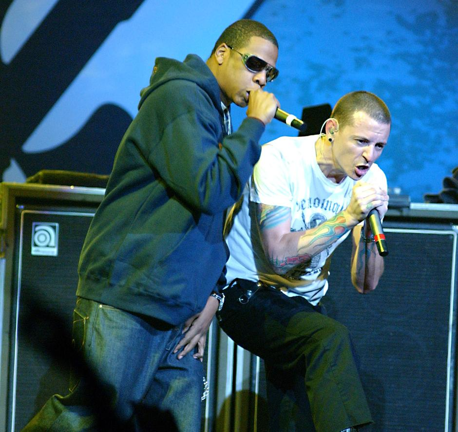 Jay Z i Chester Bennington | Author: Tammie Arroyo/Press Association/PIXSELL