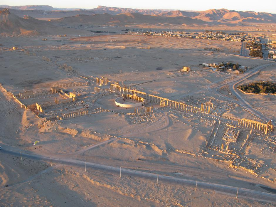 ISIL uništio 2000 godina stari hram u Palmiri   Author: Charon Christophe/ABACA/PIXSELL