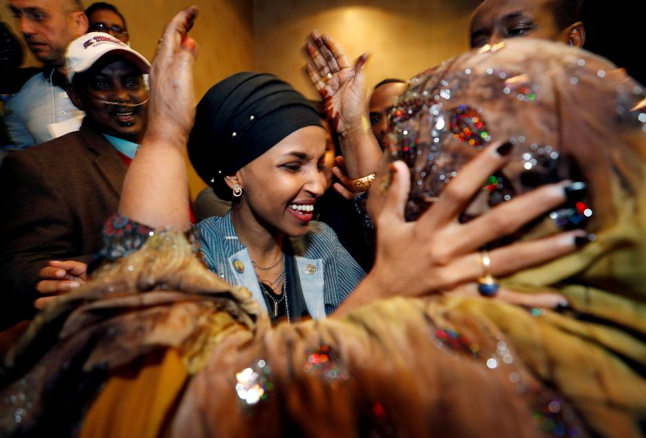 Ilhan Omar | Author: Joshua Roberts/REUTERS/PIXSELL