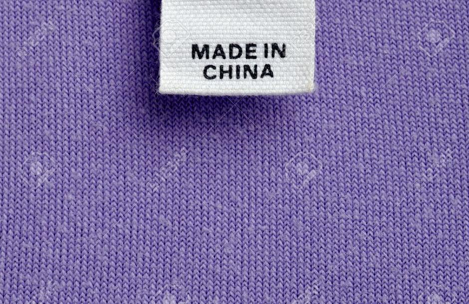 Deklaracija s natpisom Made in China   Author: screenshot