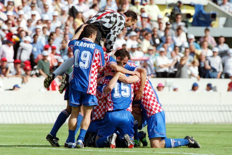Hrvatska na Svjetskom prvenstvu u Francuskoj 1998. godine | Author: Siniša Hančić/Pixsell/History