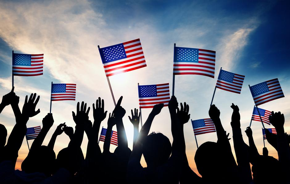 Američke zastave   Author: Thinkstock