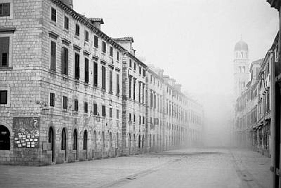 Dubrovnik, ratna opsada u jesen 1991.   Author: Pavo Urban