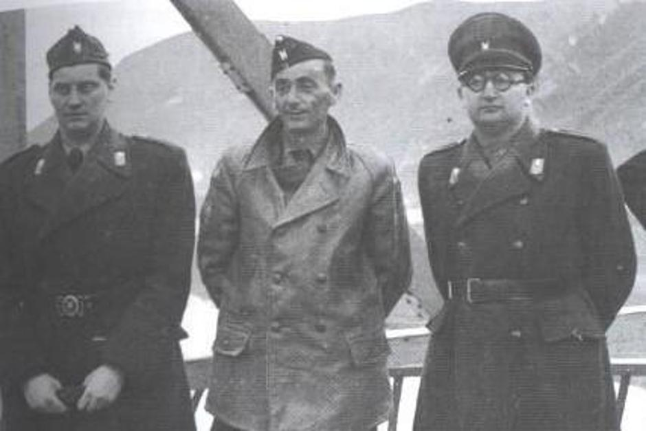 Eugen Kvaternik, Jure Francetić i Mladen Lorković | Author: Wikipedia