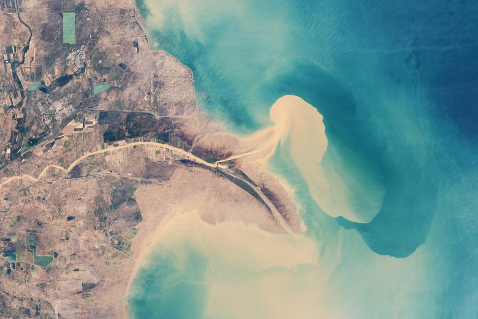 Rijeka Huang He | Author: NASA