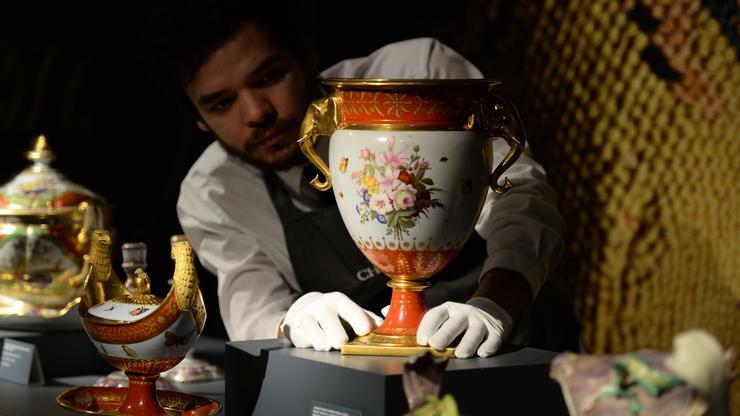 Marly Rouge servis, napravljen za Napoleona I