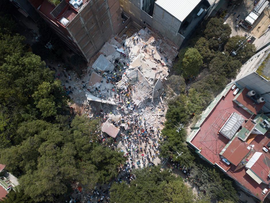 Posljedice potresa u Meksiku | Author: Social Media/Reuters/Pixsell