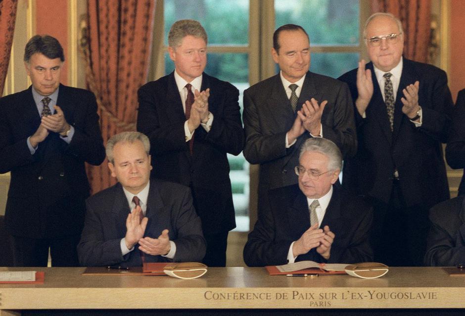 Potpisivanje Daytonskog sporazuma | Author: NATO