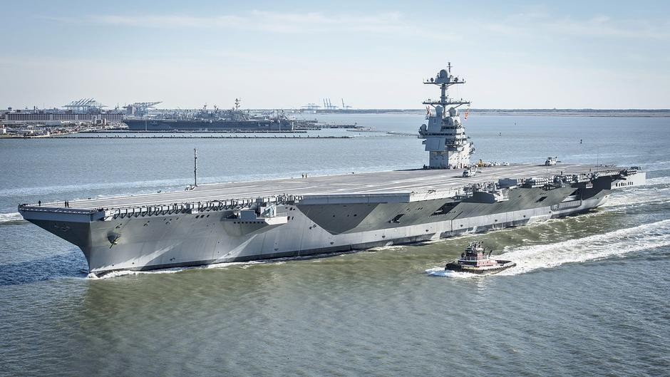 USS Gerald Ford | Author: Wikipedia