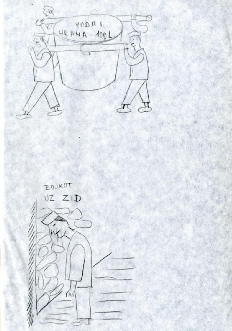 Goli otok - crteži kažnjavanja i dnevnik rada Grge Šore | Author: Hrvatski povijesni muzej