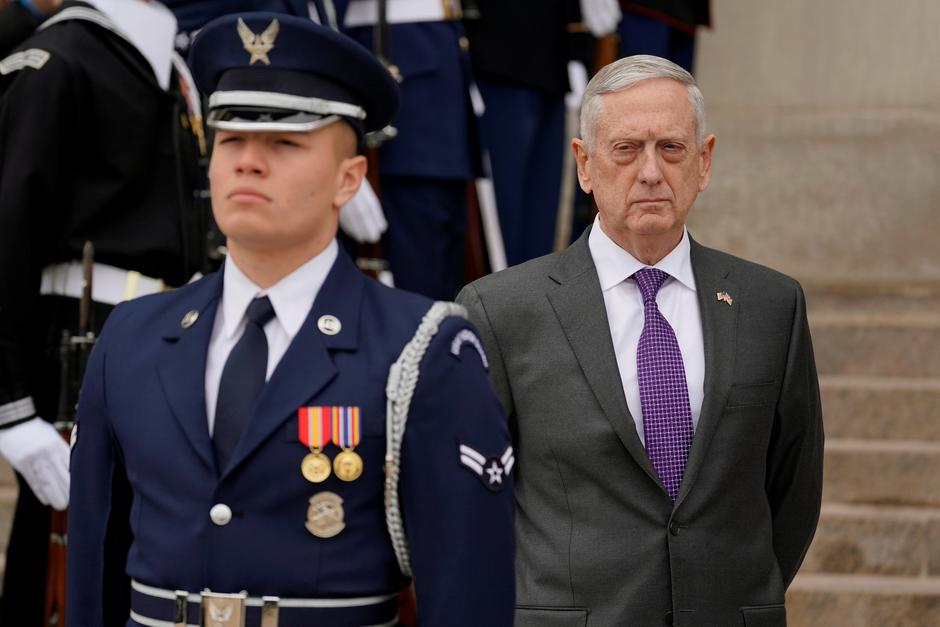 James Mattis s vojnikom | Author: Yuri Gripas/REUTERS/PIXSELL