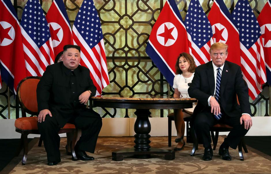 Donald Trump i Kim Jong Un | Author: LEAH MILLIS/REUTERS/PIXSELL
